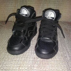 Other - Kids Black High Tops Sneakers